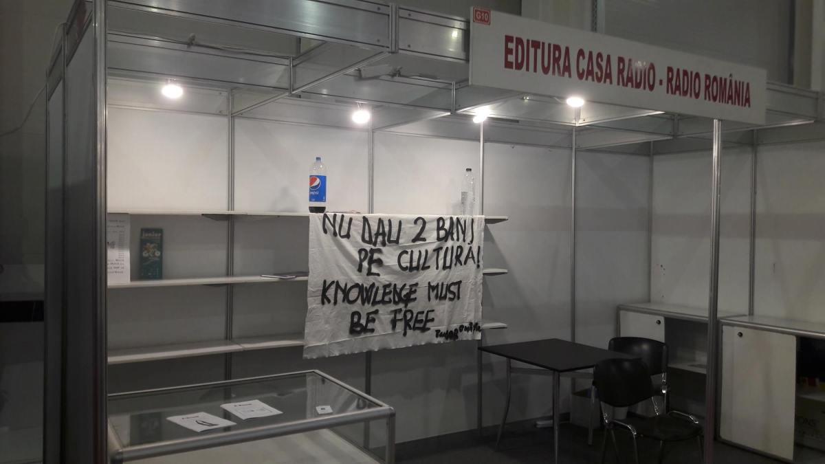 Editura Casa Radio si protestul